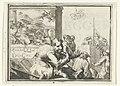 Titelblad voor het pamflet De Italiaansche Waarzegger. Esopus, Antonio Magino, en Dirk Rembrantz van Nierop, 1702 De Italiaansche Waarzegger. Esopus, Antonio Magino, en Dirk Rembrantz van Nierop (titel op object) Esopu, RP-P-OB-55.025.jpg