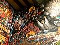 Tlaxcala - Palacio de Gobierno - Sturz der Indianergötter.jpg