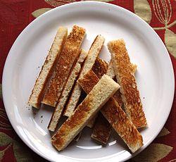 Rosta bröd i ugn