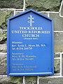 Tockholes United Reformed Church, Sign - geograph.org.uk - 990719.jpg