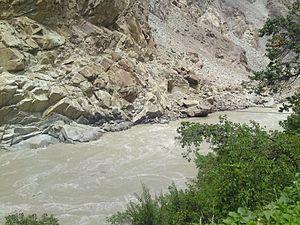 Kharmang - Image: Tolti Indus River