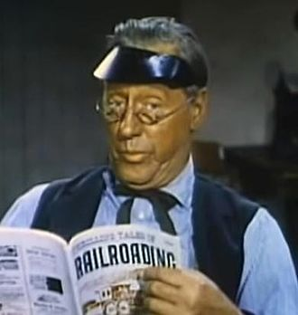 Tom Fadden - Tom Fadden in Kansas Pacific (1953)