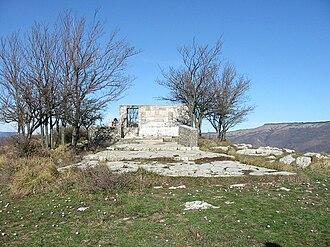 Curzio Malaparte - Malaparte tomb on Monte Spazzavento (Prato)