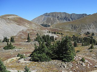 Tomichi Pass High mountain pass in Colorado, US