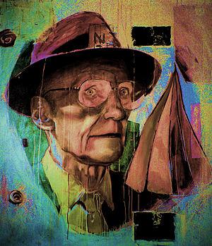 Christiaan Tonnis ~ William S. Burroughs 3 / O...