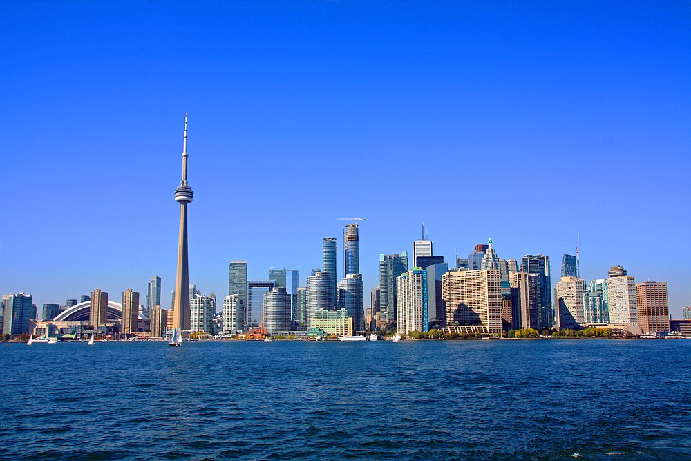 The skyline of Toronto, my hometown.