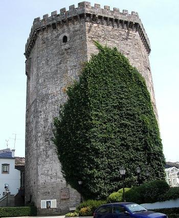 Torre da homenaxe.