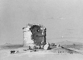Torre dei Schiavi, The Roman Campagna (from Cropsey Album)