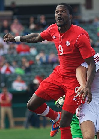 Tosaint Ricketts - Ricketts with Canada in 2013