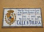 Toulouse Street, French Quarter, New Orleans, 25th February 2019 Spanish Tiles.jpg