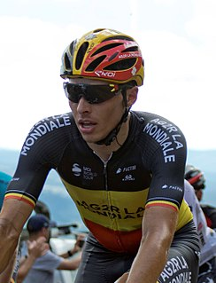 Oliver Naesen Belgian cyclist