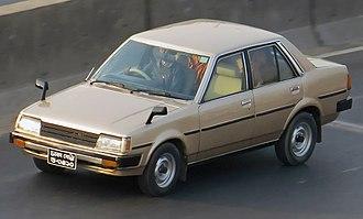 Toyota Sprinter - 1981-1983 Sprinter Sedan (E70)