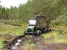 Tractor in the mud - geograph.org.uk - 578481.jpg
