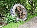 Tractor wheel - geograph.org.uk - 454267.jpg