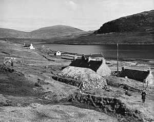 Harris Tweed - A crofting village, Isle of Lewis