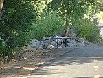 Trailside bench along Spanish Fork River Trail, Jul 15.jpg