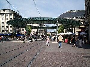 Strasbourg tramway - Homme de Fer