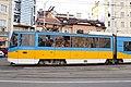 Tram in Sofia mear Macedonia place 2012 PD 019.jpg