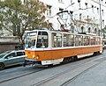 Tramway in Sofia in Alabin Street 2012 PD 005.jpg