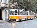 Tramway in Sofia in Alabin Street 2012 PD 058.jpg