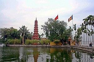 Trấn Quốc Pagoda - Pagoda of Trấn Quốc Temple