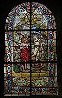 Trans-la-Forêt (35) Église Saint-Pierre Intérieur Vitrail 01.jpg