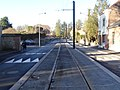 Travaux de la branche vers Vieux-Condé de la ligne B du tramway de Valenciennes en décembre 2013 (258).JPG