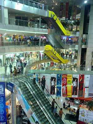 Economy of Madhya Pradesh - Treasure Island, a shopping mall in Indore.