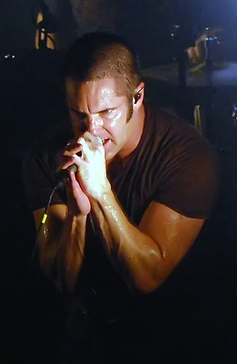 Trent Reznor of the two-time award-winning band, Nine Inch Nails Trent-Reznor 2009.jpg