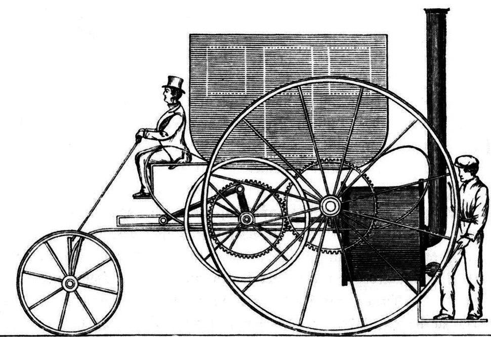 Trevithicks Dampfwagen
