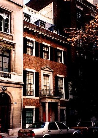 Mott B. Schmidt - Image: Trevor House East 90 St NYC