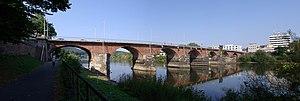 Roman Bridge (Trier) - Roman Bridge at Trier