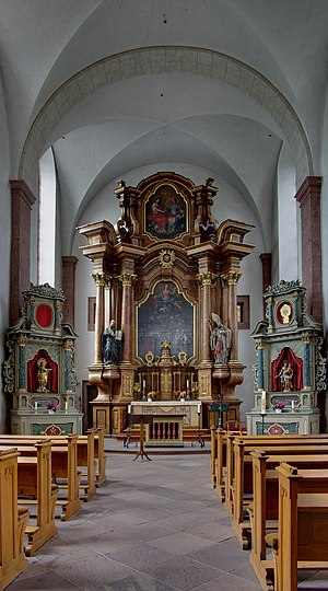 Trier, Welschnonnenkirche (Church of the french nuns)