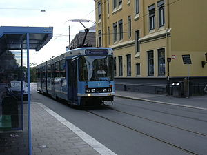 Trams in Oslo - SL79.