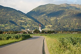Tristach Place in Tyrol, Austria