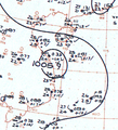 Tropical Storm Anita analysis 19 Oct 1961.png