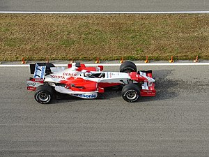 Toyota TF106 - Jarno Trulli in a TF106
