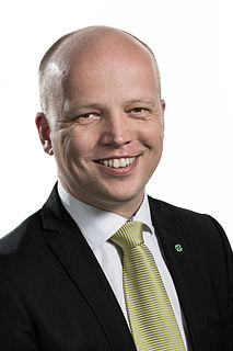 Trygve Slagsvold Vedum Norwegian politician