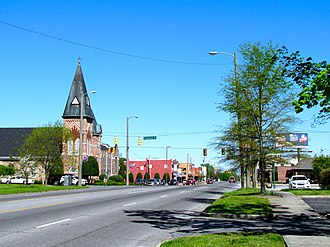 Tullahoma, Tennessee - South Jackson Street
