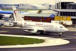 TunisAir B737-200 TS-IOD AMS (15539075453).jpg