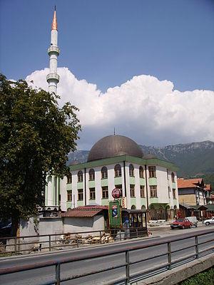 Turbe, Travnik - New mosque in Turbe