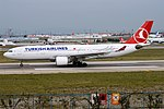 Turkish Airlines, TC-LNA, Airbus A330-223 (30358217017).jpg