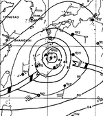 Typhoon Kathy surface analysis 20 August 1964 0600z.png