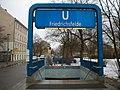 U-Bahn Berlin U5 Friedrichsfelde entrance.JPG