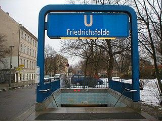 Friedrichsfelde (Berlin U-Bahn) Berlin U-Bahn station