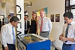U.S. Ambassador Ted Osius visits the Maker Innovation Space located in University of Danang (36323620094).jpg