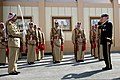 U.S. Army Gen. Martin E. Dempsey, right, the chairman of the Joint Chiefs of Staff, salutes a Jordanian Armed Forces Honor Guard after a pass in review ceremony in Amman, Jordan, Aug. 14, 2013 130814-D-VO565-015.jpg