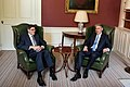 U.S. Secretary of the Treasury Jack Lew meeting with the new UK Chancellor, Phillip Hammond, at No. 11 in London, Thursday 14th July 2016. (27690331434).jpg