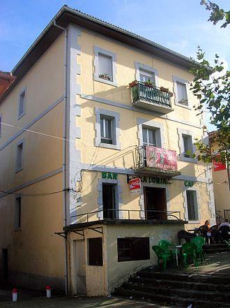 Casa del pueblo - Casa del Pueblo in La Arboleda-Zugaztieta, Trápaga-Trapagaran, Biscay, Spain. The local branch was founded in 1888.