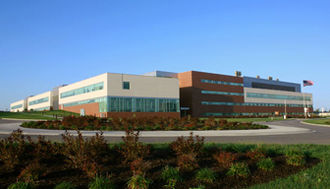United States Air Force School of Aerospace Medicine - USAFSAM Building as part of the 711 HPW campus on Wright-Patterson AFB, Ohio